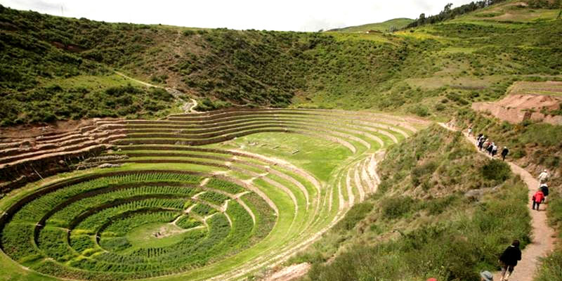 Moray circular Inca terraces